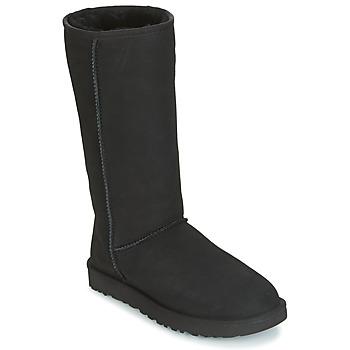 Shoes Women High boots UGG Australia CLASSIC TALL II Black