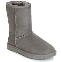 Shoes Women Mid boots UGG Australia CLASSIC SHORT II Grey