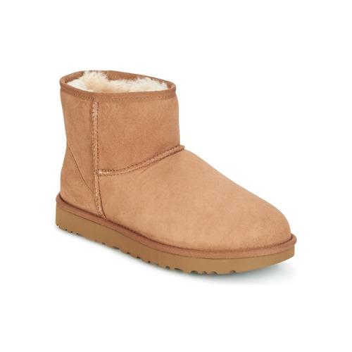 Shoes Women Mid boots UGG Australia CLASSIC MINI II Camel