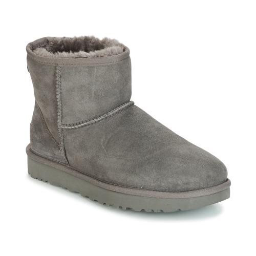 Shoes Women Mid boots UGG Australia CLASSIC MINI II Grey