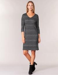 Clothing Women Short Dresses Cream MIRA DRESS Black