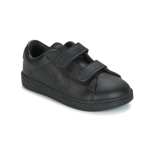 Shoes Boy Low top trainers Converse PL 2V OX INFANT  black