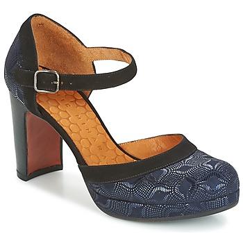 Shoes Women Heels Chie Mihara TISA Blue / Metallic