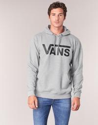 Clothing Men sweaters Vans VANS CLASSIC PULLOVER HOODIE Grey