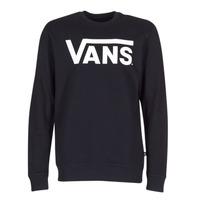 Clothing Men sweatpants Vans VANS CLASSIC CREW Black