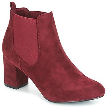 Shoes Women Ankle boots Spot on MANIA BORDEAUX