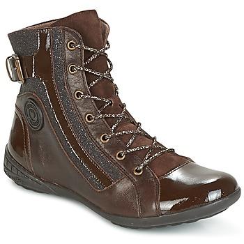 Shoes Women Hi top trainers Pataugas NOUR Brown
