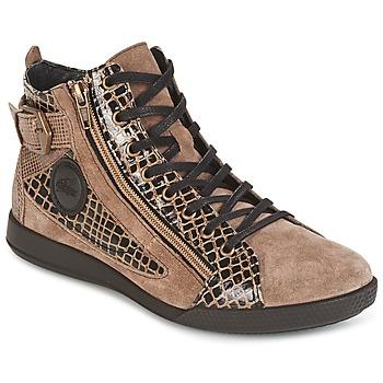 Shoes Women Hi top trainers Pataugas PALME Beige