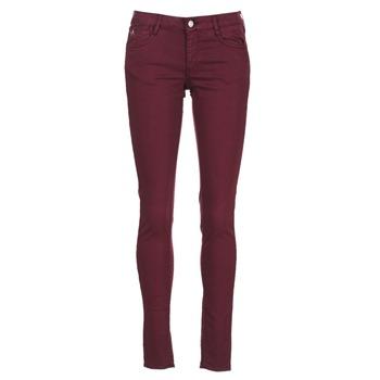 Clothing Women slim jeans Le Temps des Cerises 316 Prune
