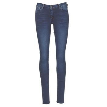 Clothing Women Skinny jeans Le Temps des Cerises ULTRAPOWER Blue / Medium