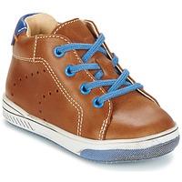 Shoes Girl Hi top trainers Babybotte ANKARA CAMEL