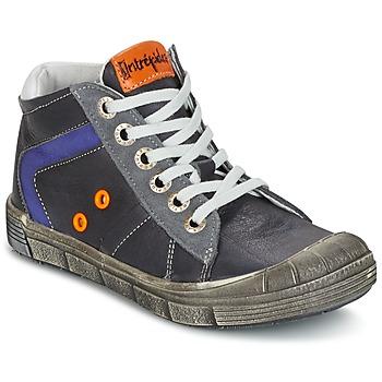 Shoes Boy Hi top trainers Babybotte KANADA Grey / Dark