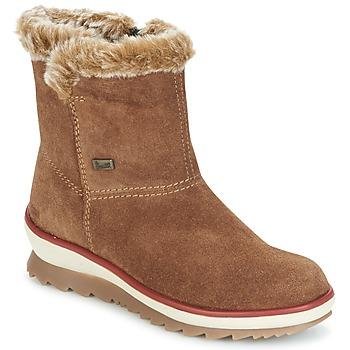 Shoes Women Mid boots Rieker BATIA CAMEL