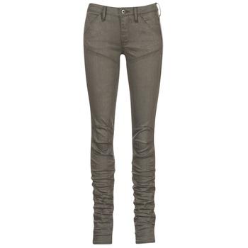 Clothing Women Skinny jeans G-Star Raw 5620 STAQ 3D MID SKINNY COJ WMN Kaki