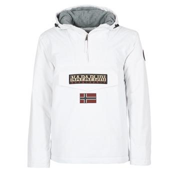 Clothing Men Parkas Napapijri RAINFOREST White