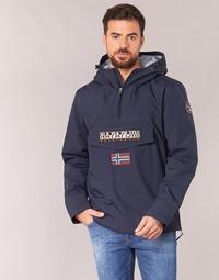 Clothing Men Parkas Napapijri RAINFOREST Marine