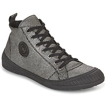 Shoes Women Hi top trainers Pataugas ROCKER Silver