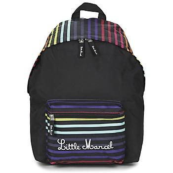 Bags Women Rucksacks Little Marcel SATURNIN Black / Multicoloured