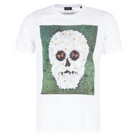 Clothing Men short-sleeved t-shirts Diesel JOE QM White