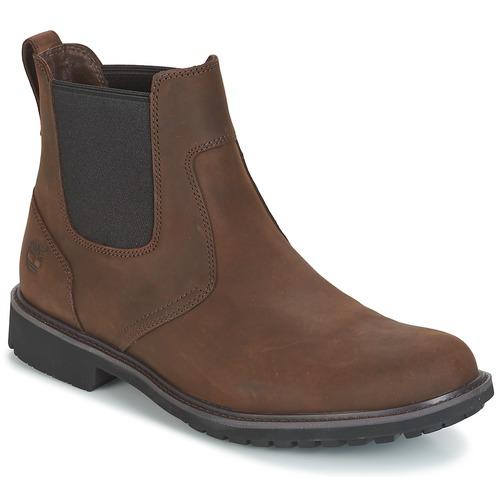 Shoes Men Mid boots Timberland STORMBUCKS CHELSEA Brown
