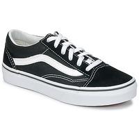 Shoes Children Low top trainers Vans OLD SKOOL V Black