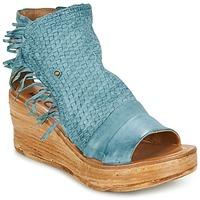 Shoes Women Sandals Airstep / A.S.98 NOA Blue