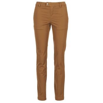 Clothing Women 5-pocket trousers LPB Shoes CHINAI Cognac