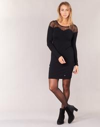 Clothing Women Short Dresses LPB Woman DARTO Black