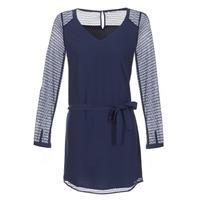 Clothing Women Short Dresses Les P'tites Bombes MALIS Blue