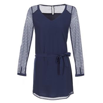 Clothing Women Short Dresses Les P'tites Bombes MALIS Marine
