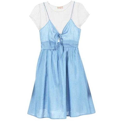 Clothing Women Short Dresses Moony Mood GLAM Blue