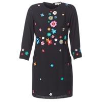 Clothing Women Short Dresses Derhy BASTILLE Black