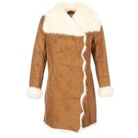 Clothing Women coats Derhy RADEAU Camel