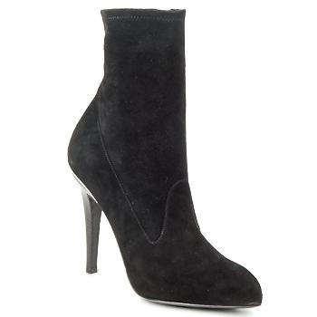 Shoes Women Ankle boots Michael Kors STRETCH LB Black