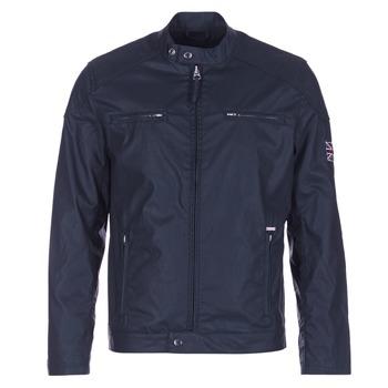 Clothing Men Jackets Pepe jeans RACER Marine
