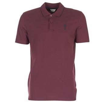 Clothing Men short-sleeved polo shirts Jack & Jones STONE CORE BORDEAUX