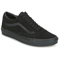 Shoes Low top trainers Vans UA Old Skool Suede /  BLACK /  BLACK /  BLACK