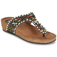 Shoes Women Sandals Metamorf'Ose ZABUSTE Black
