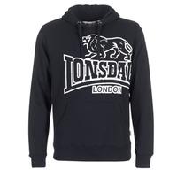 Clothing Men sweaters Lonsdale TADLEY Black