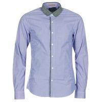 Clothing Men long-sleeved shirts Scotch & Soda JILLA Blue