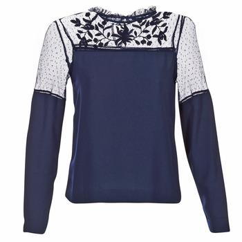 Clothing Women Tops / Blouses Vero Moda JOSEFINE MARINE