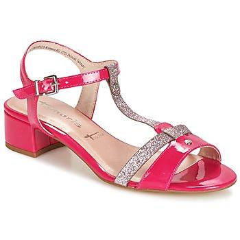 Shoes Women Sandals Tamaris  FUCIA / Lavender