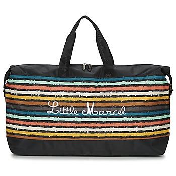 Bags Women Luggage Little Marcel NAVIGA Black / Multicoloured