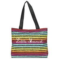 Bags Women Shopping Bags / Baskets Little Marcel MIRAGE Black / Multicoloured