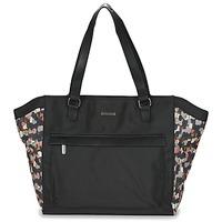 Bags Women Shopping Bags / Baskets Little Marcel NUR Black / Multicoloured