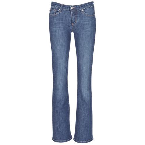 Clothing Women bootcut jeans Betty London IHEKIKKOU BOOTCUT Blue / Medium