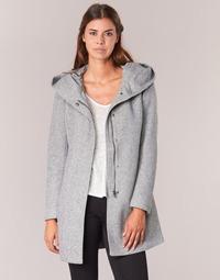 Clothing Women coats Only SEDONA Grey