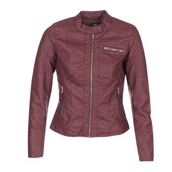 Clothing Women Leather jackets / Imitation leather Only READY BORDEAUX