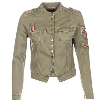 Clothing Women Jackets / Blazers Only NEW AUSTIN KAKI