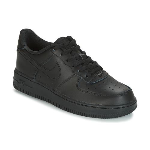 Nike AIR FORCE 1 CADET Black - Free
